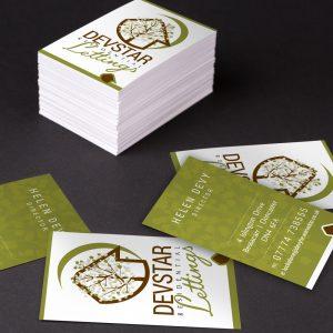 Devstar Business Cards