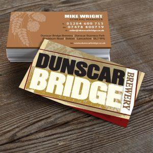 Dunscar Bridge Brewery Business Cards