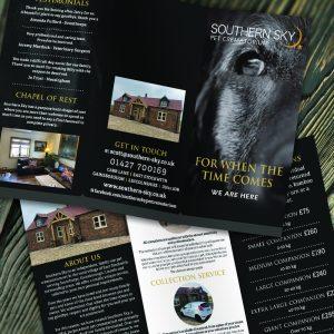 Southern Sky Leaflet