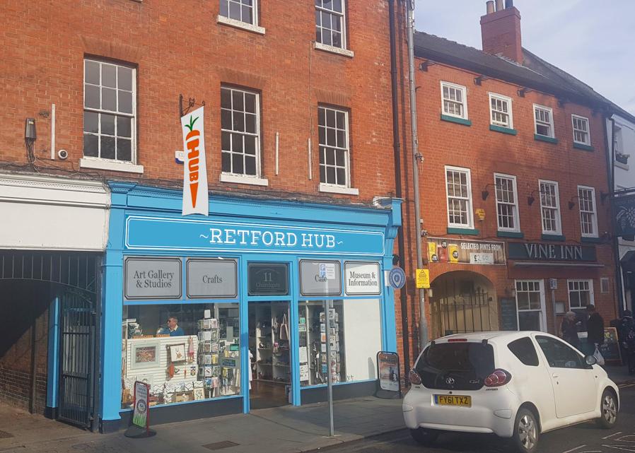 Exciting times ahead for Retford Hub!