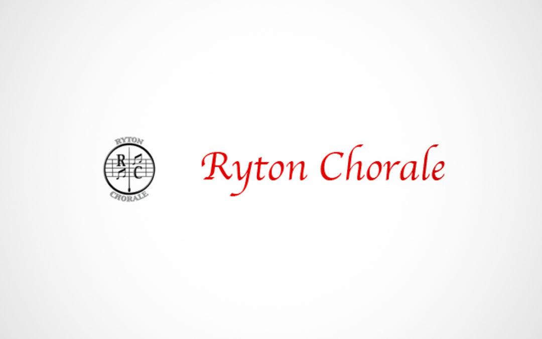 Ryton Chorale: Autumn Concert