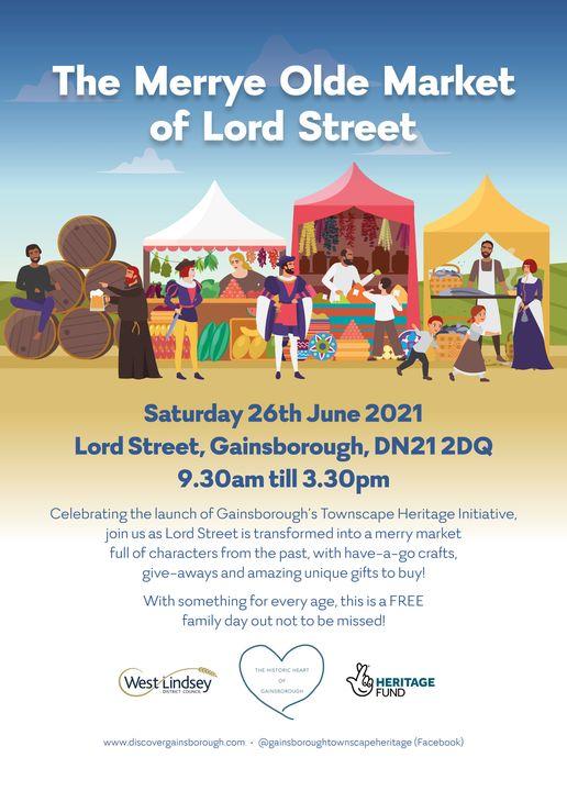The Merrye olde Market of Lord Street