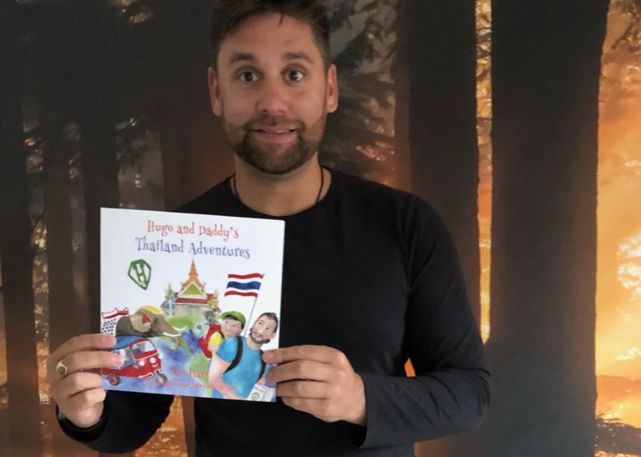 Children's bereavement book features Thailand adventures