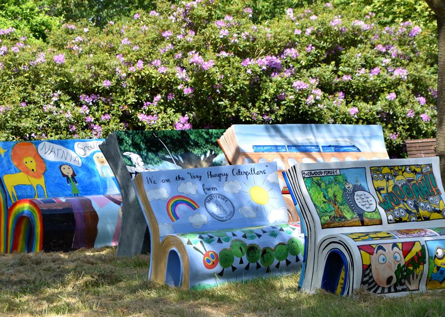 BookBench Art Trail