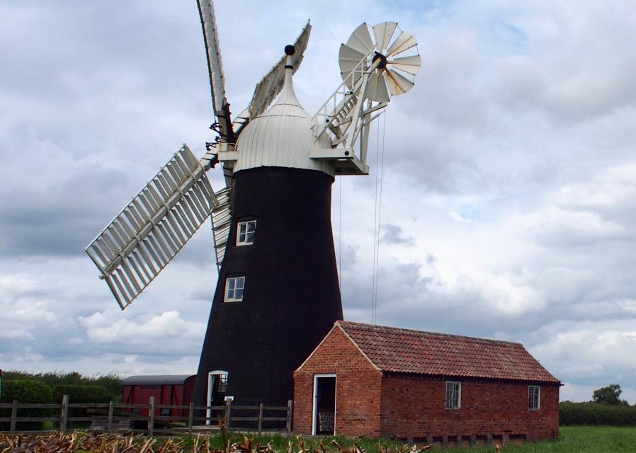 North Leverton Windmill's lockdown facelift