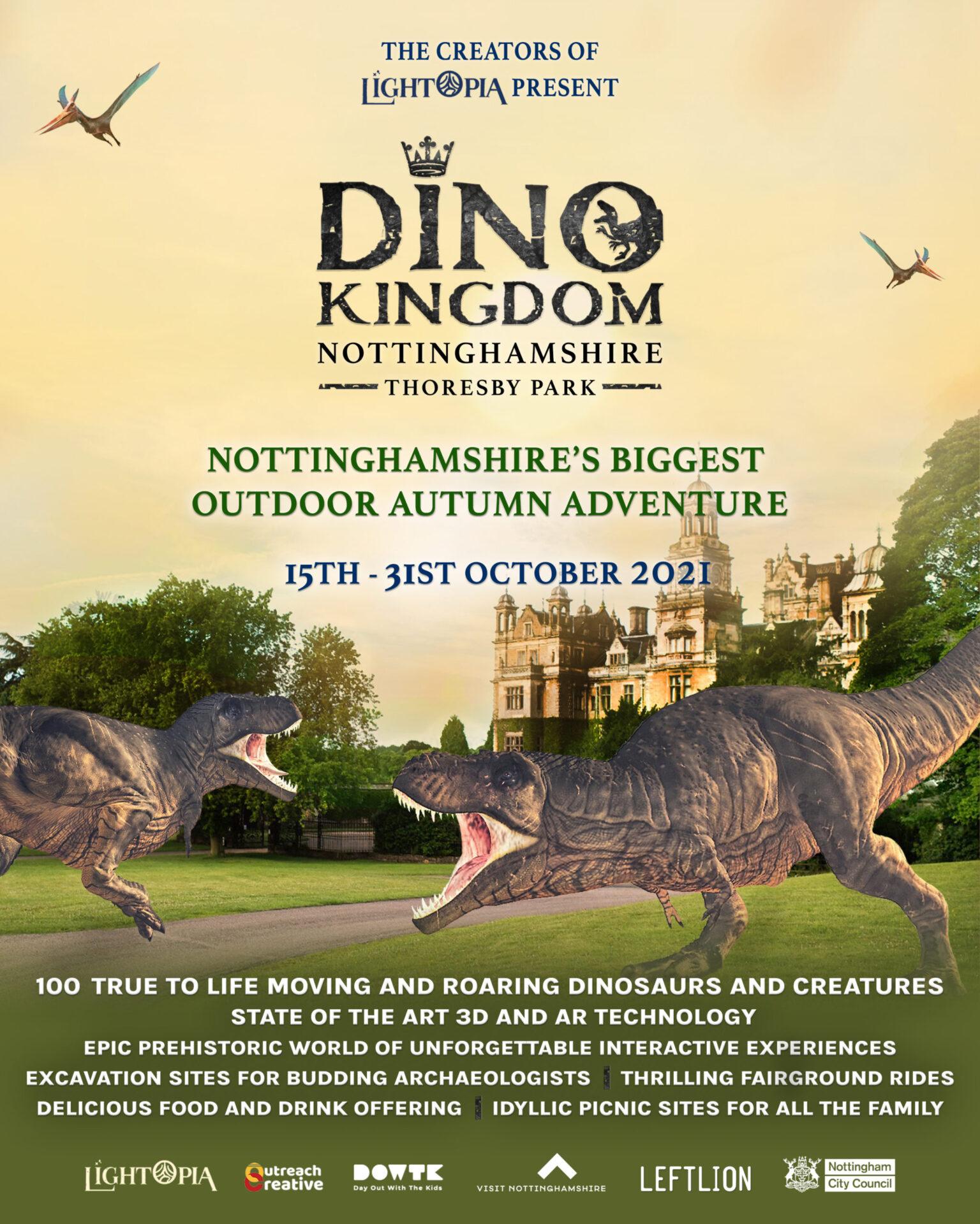 Dino Kingdom at Thoresby Park